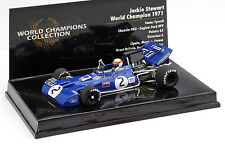 Jackie Stewart Tyrrell 003 #2 Weltmeister Deutschland GP F1 1971 1:43 Minichamps