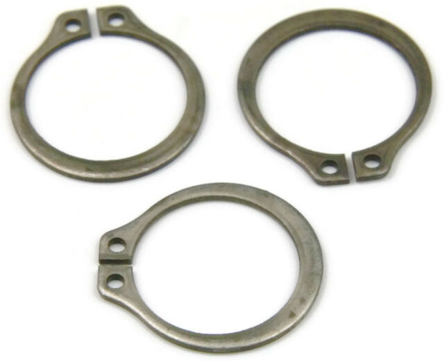 Stainless Steel E Snap Rings Retaining Rings SE-21SS 7//32 Qty 100