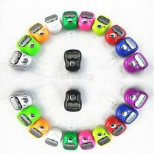 Number Clicker Tasbeeh Tasbih Mini Finger Ring Digital Hand Tally Counter New