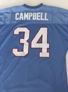 5cad6a65 Image is loading Mitchell-Ness-Mens-Earl-Campbell-Houston-Oilers-Jersey-