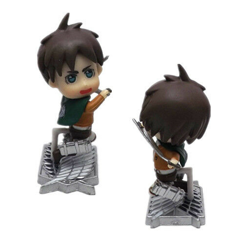Attack on Titan Eren Yeager Action Figure Q Mini
