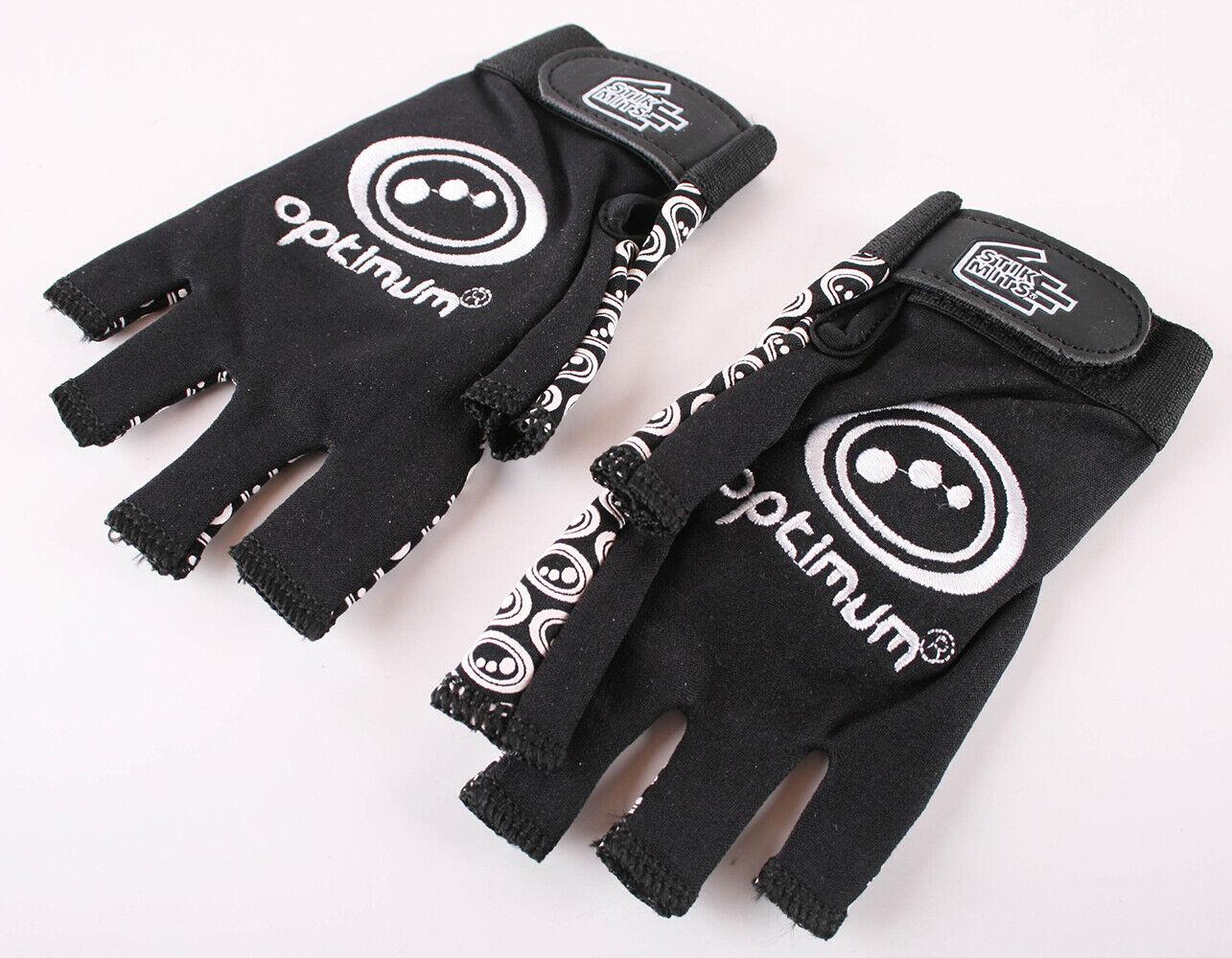 Optimum Unisex Junior Original Skit Mits Rugby Gloves Black/White S