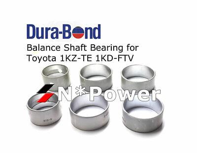 DURA-BOND BALANCE SHAFT BEARING FOR TOYOTA 1KD-FTV 3.0L Hilux  Landcruiser Prado