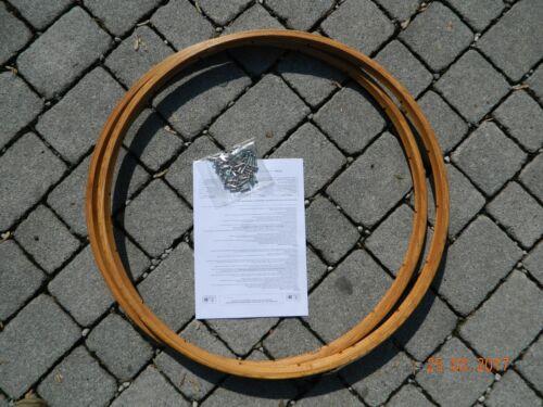 n.2 Holzfelgen cerchi in legno FIANDRE vintage per tubolari CB ITALIA