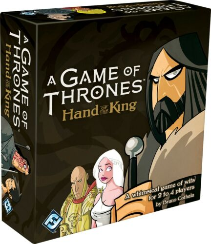 FFG GOT A Game of Thrones Hand of the King Card Game A Whimsical Game Of Wits
