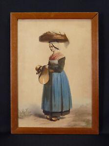 Woman-in-Suit-Traditional-Normandy-Country-Loire-Batz-on-Mer-Honfleur-Caux