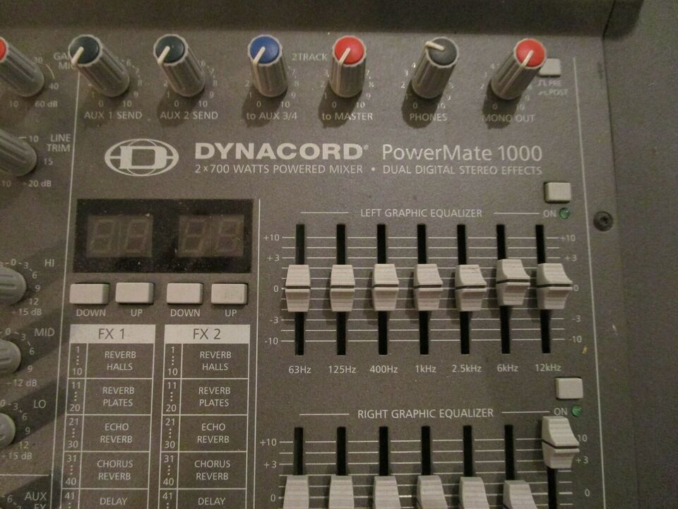Mixer, Dynacord PM 1000-2