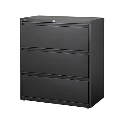 Staples 3-Drawer Lateral File Cabinet Locking Letter/Legal ...