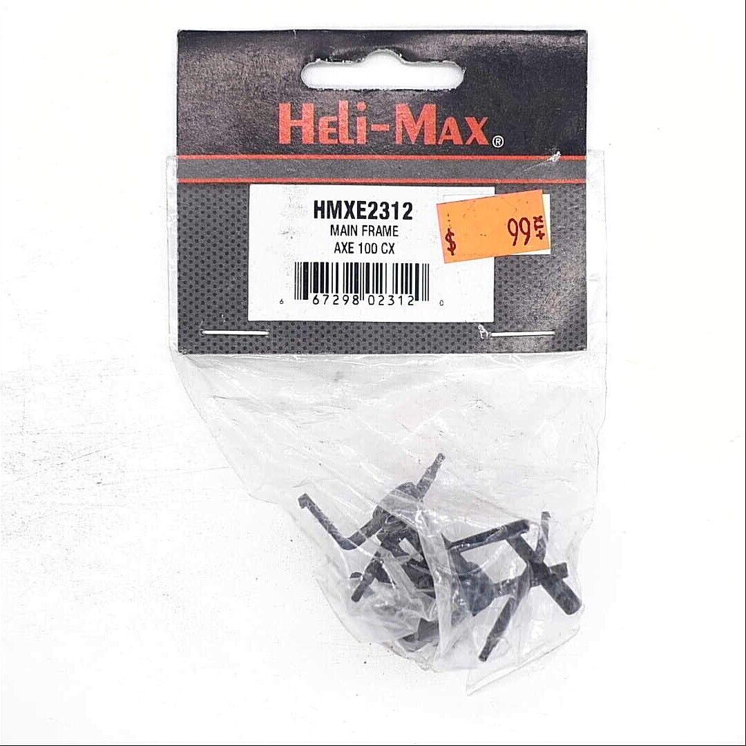 Helimax HMXE2114 Canopy AXE 100 CP Orignal NewInPackage