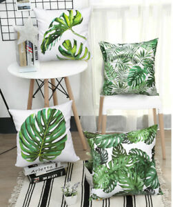 Enjoyable Details About Decorative Tropical Pillow Case Banana Leaf Palm Leaf Throw Pillow Cushion Cover Ocoug Best Dining Table And Chair Ideas Images Ocougorg