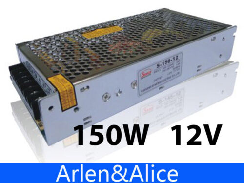 150W 12V 12.5A Single Output Switching power supply for LED Strip light AC to DC
