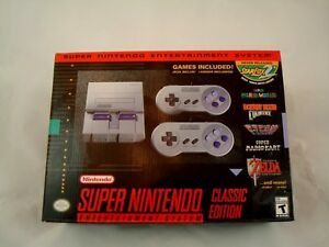 Details about SNES Classic Edition - Super Nintendo Mini Console - Free  Shipping - New