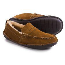 Tempur-Pedic Isoheight Indoor Outdoor Moc Slippers, Men's Tan Suede, size 8