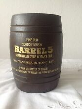 BARREL 5, TEACHERS & Sons LTD, Fine Old  Scotch Whisky, 5 years old, Whisky Fass