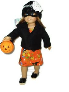 7pc-Trick-or-Treat-Outfit-18-inch-Doll-Clothes-fits-American-Girl-dolls