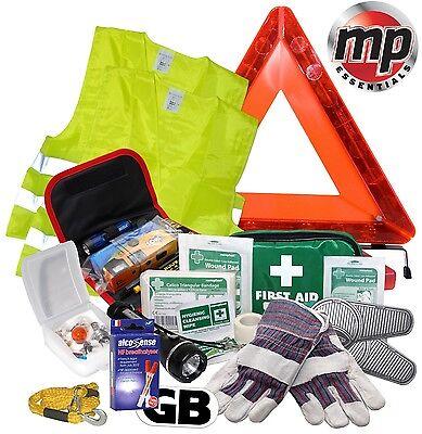 Car Safety Abroad Europe European Travel Essentials & Emergency Breakdown Kit