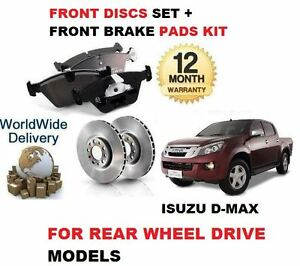 para-Isuzu-Dmax-D-Max-2-5-Ddi-4x2-RWD-2012-gt-Juego-Nuevo-freno-disco-delantero