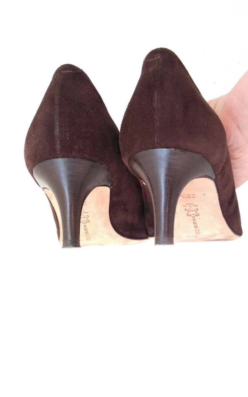 HOBBS braun suede court --MINT-- schuhe Größe 3.5 --MINT-- court 100% Leather 660182