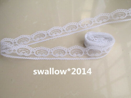 Free shipping Beautiful 10-100 yards embroidery lace ribbon color selection
