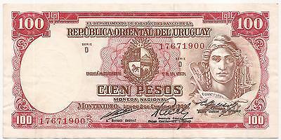 URUGUAY South America 50 Centesimos UNC 1939 p-34 Series H