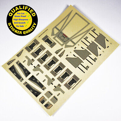 Star Wars Sticker for Lego® 7191 X-Wing precut Replacement full