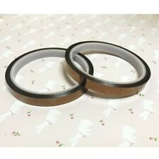 2 Rolls Heat Resistant Tapes Sublimation Press Transfer Thermal Tape 10mm33m