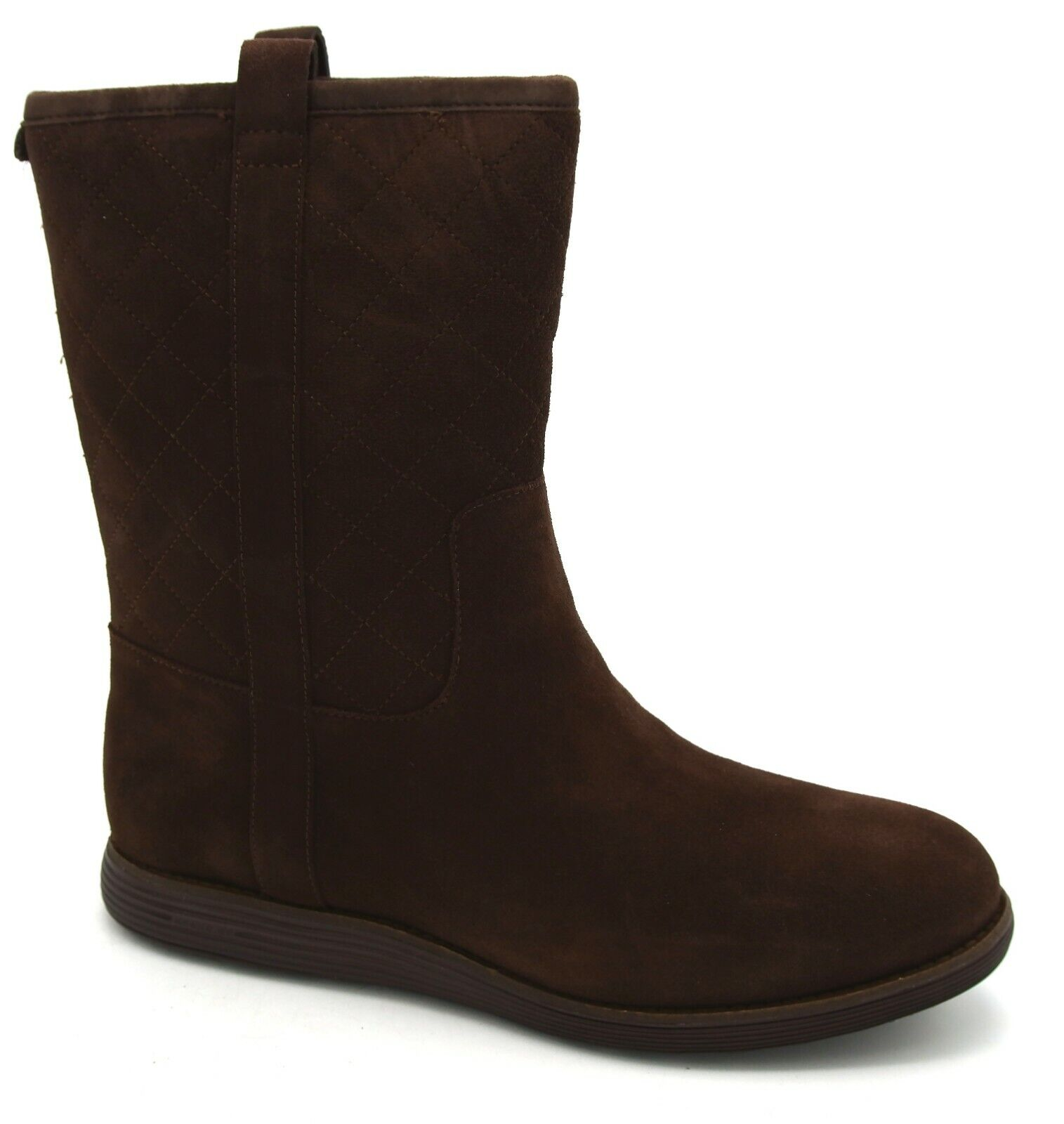 J7801 New Women's Cole Haan Roper Waterproof Chestnut Boot 10 B