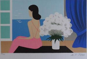 Maria Teresa Torres: El Ramo Blanco - Litografía Original Firmada, 250EX
