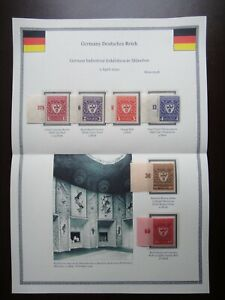 Germany-1922-Stamps-MNH-Wmk-Arms-of-Munich-Deutsches-Reich-Deutschland-German