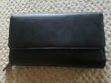 MY BIG FAT WALLET Mundi Women Faux Leather Ladies RFID Clutch Black  I747X