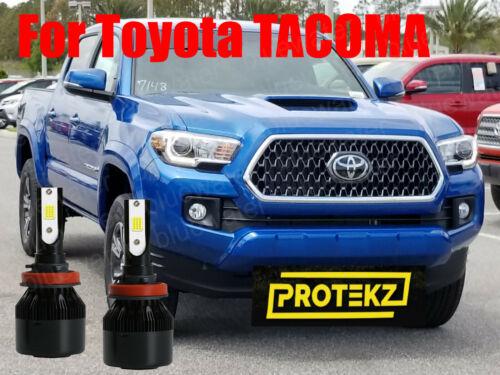 LED TACOMA 2016 2017 2018 Headlight Kit H11 6000K White CREE Bulbs Low Beam