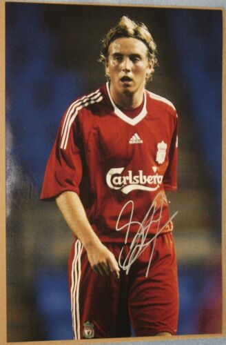 Steven Irwin signed Liverpool 12x8