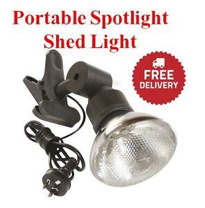 Image Is Loading Spotight Security Flood Light Garage Shed Lighting Gutter