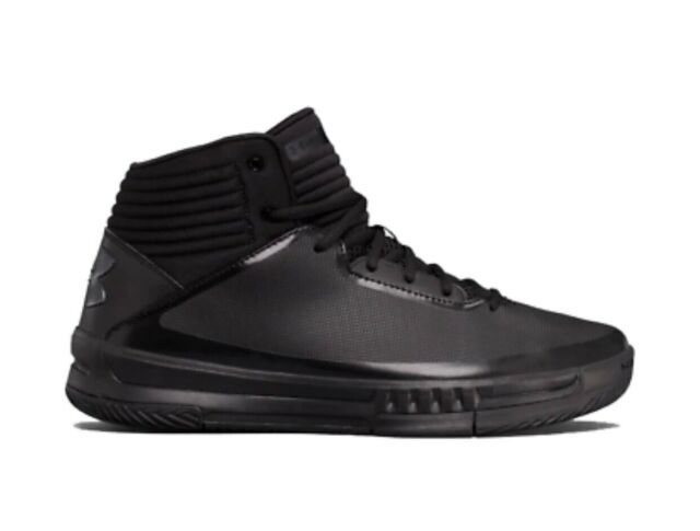 4e38decf7c7b Under Armour Men s UA Lockdown 2 Size 8.5 Basketball Shoes Black 1303265-002