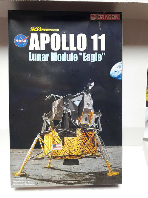 Dragon  1 48 Apollo 11 Grumman Lunar Module  Eagle model kit