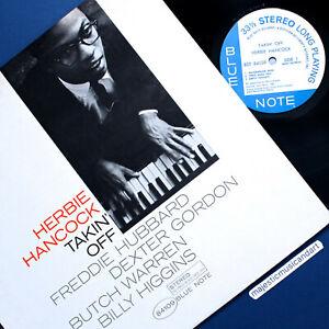 HERBIE-HANCOCK-TAKIN-OFF-1966-PRESSING-VINYL-VAN-GELDER-BLUE-NOTE-LP-NM