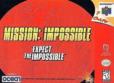 Mission Impossible Nintendo 64 1998 European Version For Sale Online Ebay