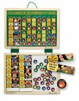 Melissa And Doug Deluxe Magnetic Responsibility Chart. , New, Free Shipping