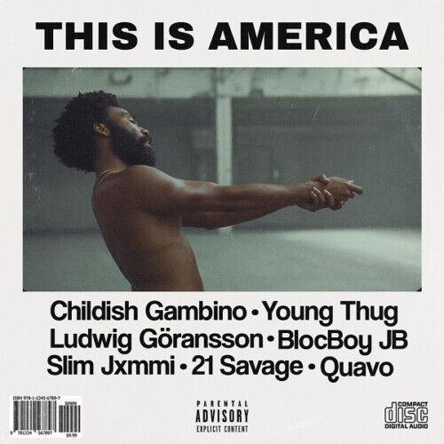 This is America Childish Gambino Fabric Poster 12x12 24x24 Music Album B-471