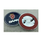 68mm-2-5-034-Logo-Front-Hood-Boot-Rear-Trunk-Emblem-Badge-fit-SAAB-9-3-93-95-Option miniature 9