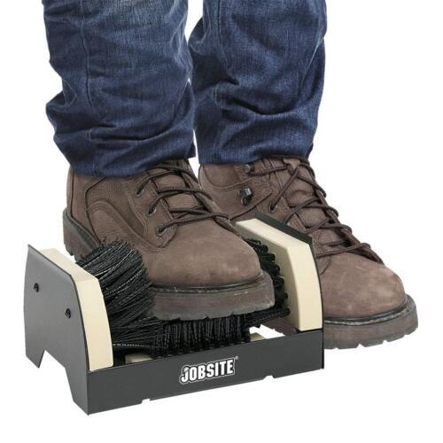 JobSite The Original Boot Scrubber Industrial Shoe Cleaner /& Scraper Brush