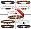 Couples-distance-Bracelets-Gemstone-tiger-eye-lava-friendship-matching-pair