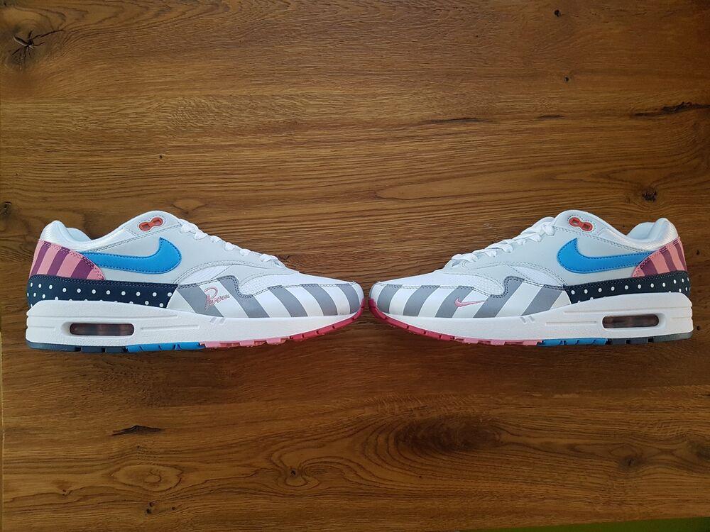 Nike Nike Nike Air Max 1 Parra US 10, EUR 44 The Ten Off blanc- 015817