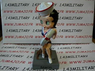 BB1K figurine Betty boop resine en blister MIB 15 cm environ Ange sur pillier