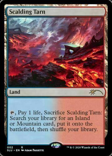 MtG Scalding Tarn Secret Lair Ultimate Edition NM Near Mint Rare Fetch Land
