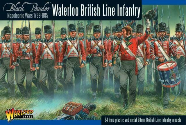Warlord Games Black Powder Napoleonic British Casualties Waterloo Miniatures