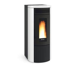 Termostufa-termo-stufa-a-pellet-NORDICA-EXTRAFLAME-Costanza-Idro-17-0-kW-bianco