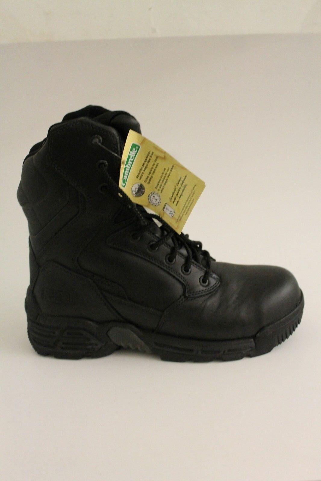 Magnum Stealth Force 8.0 Cuero CT CP Seguridad botas Slip resistente al aceite para hombre 8In