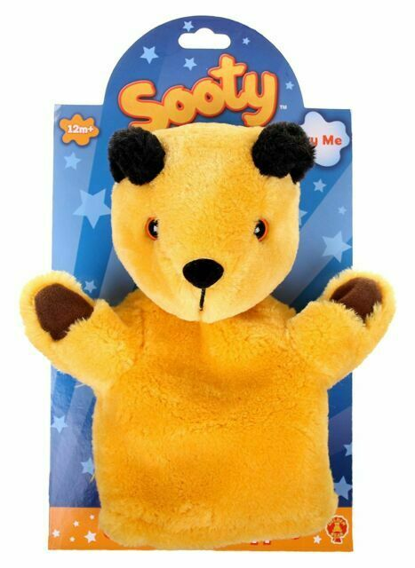 The Sooty Show Official Sooty Plush Soft Cuddly Toy Hand Puppet