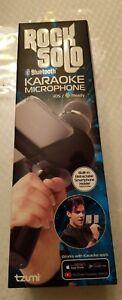 PréCis New Rock Solo Bluetooth Karaoke Microphone Ios Prêt Avec Smartphone Holder-afficher Le Titre D'origine